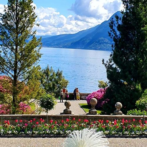 Tour on Lake Maggiore. Borromeo Islands and Stresa. Isola Bella.