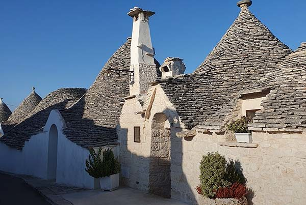 Alberobello with its trulli is one of the destinations on our tour of Apulia