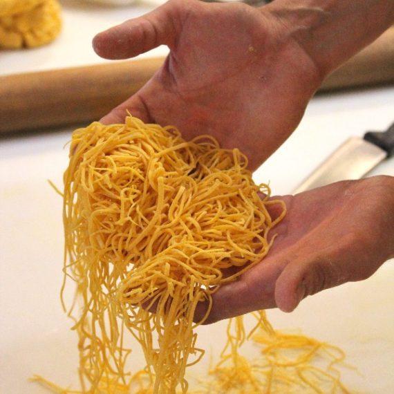 esperienze | corsi di cucina | tagliolini