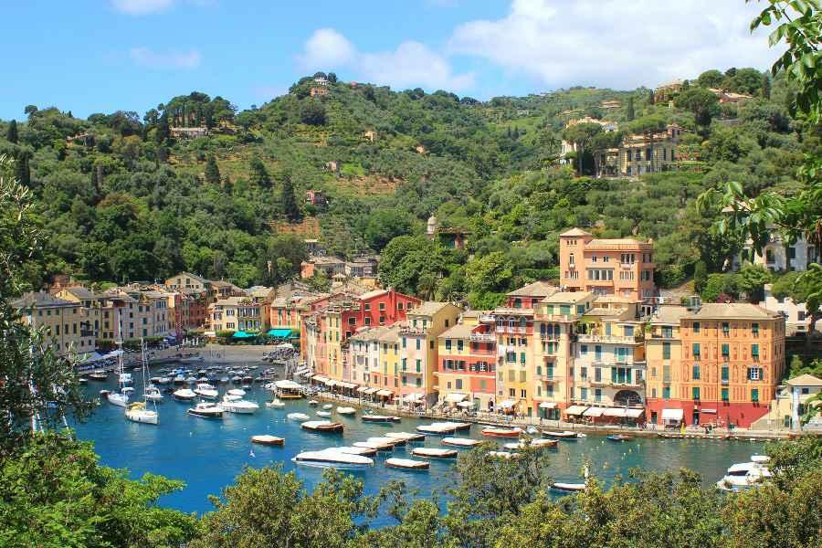 hiking in cinque terre and portofino-portofino
