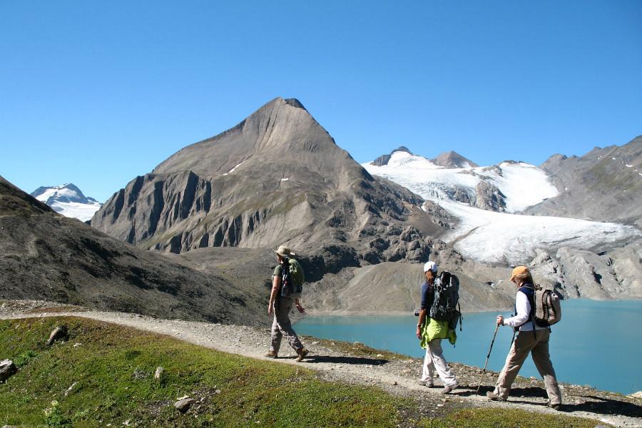 il grande sentiero dei walser | passo e ghiacciaio del gries