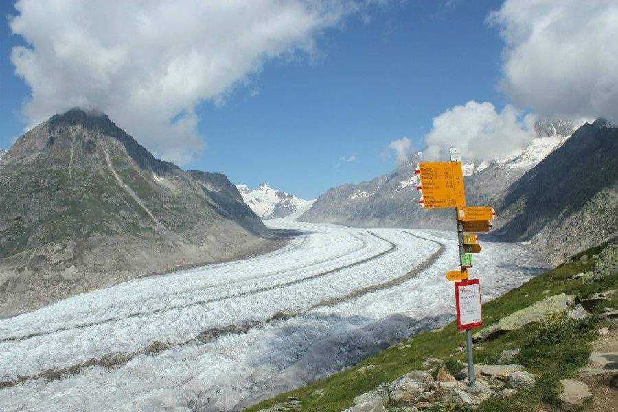 undiscovered valais | aletsch glacier