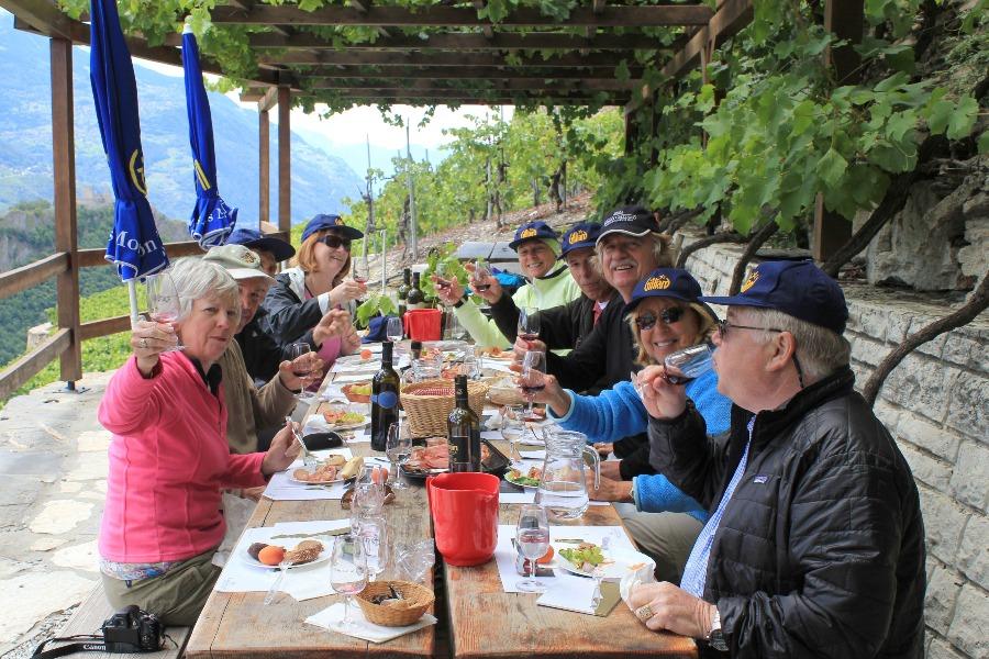 il vallese e le sue meraviglie | degustazione vino