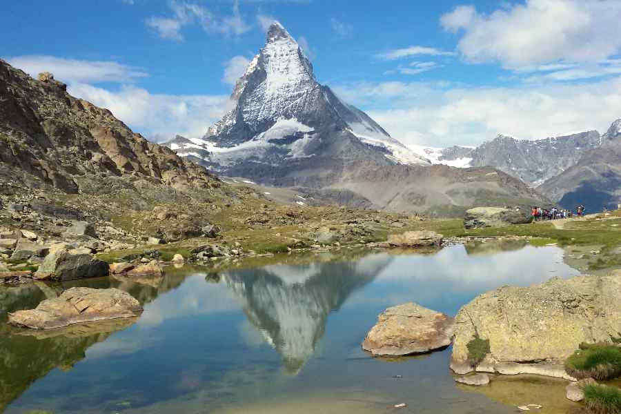 from the eiger to the matterhorn