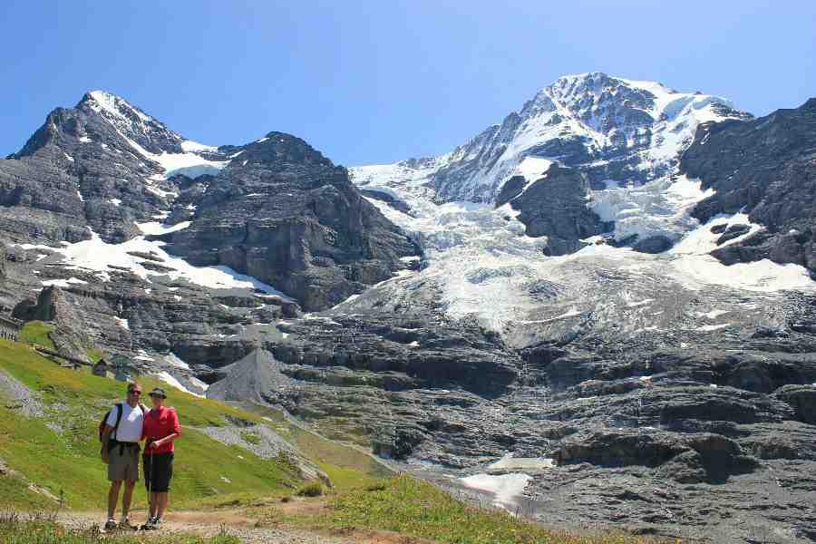from the eiger to the matterhorn | eiger mönch jungfrau