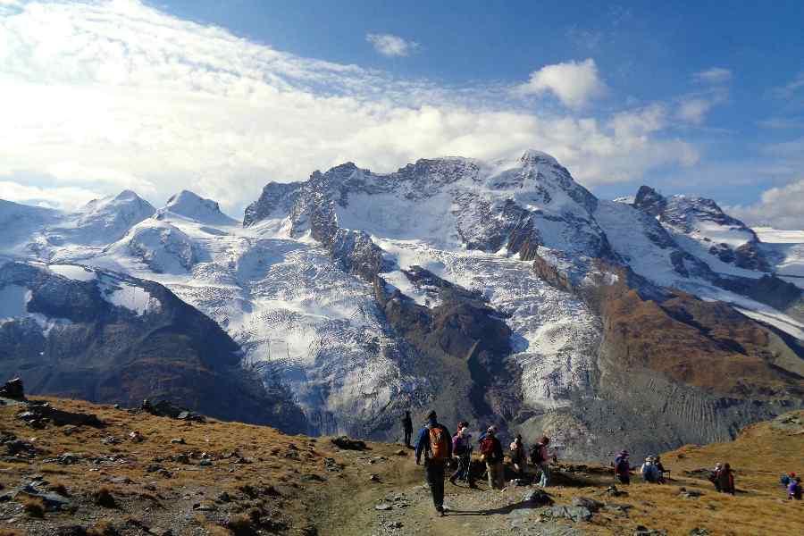 from the eiger to the matterhorn | gornergrat