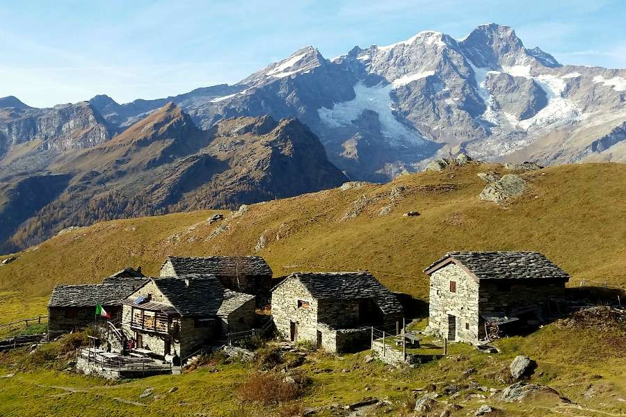hiking tour of monte rosa | sesia valley