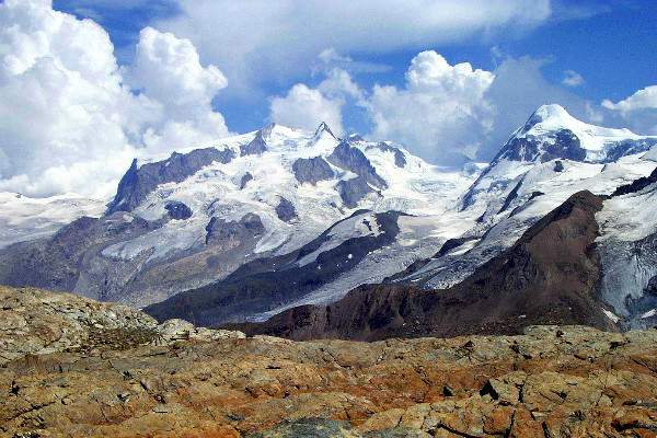 hiking tour of monte rosa