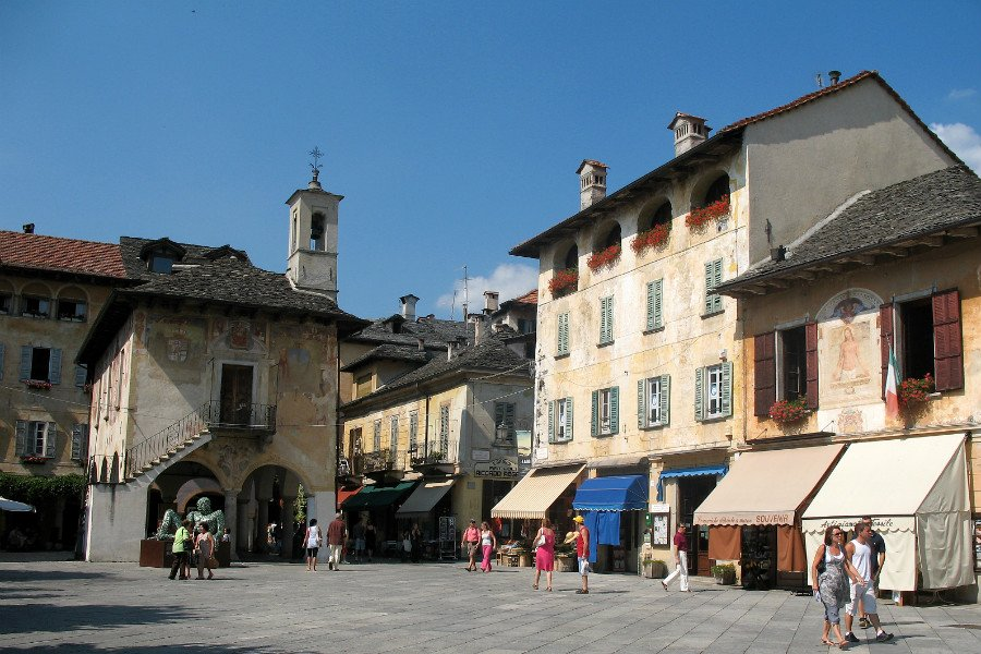the italian lakes region-orta san giulio