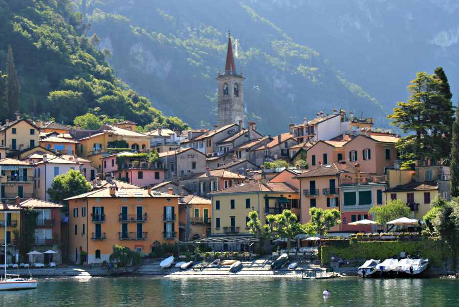 the italian lakes region-varenna
