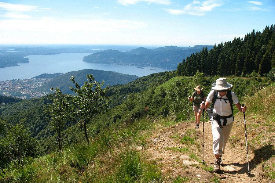the italian lakes region-hiking above lake maggiore