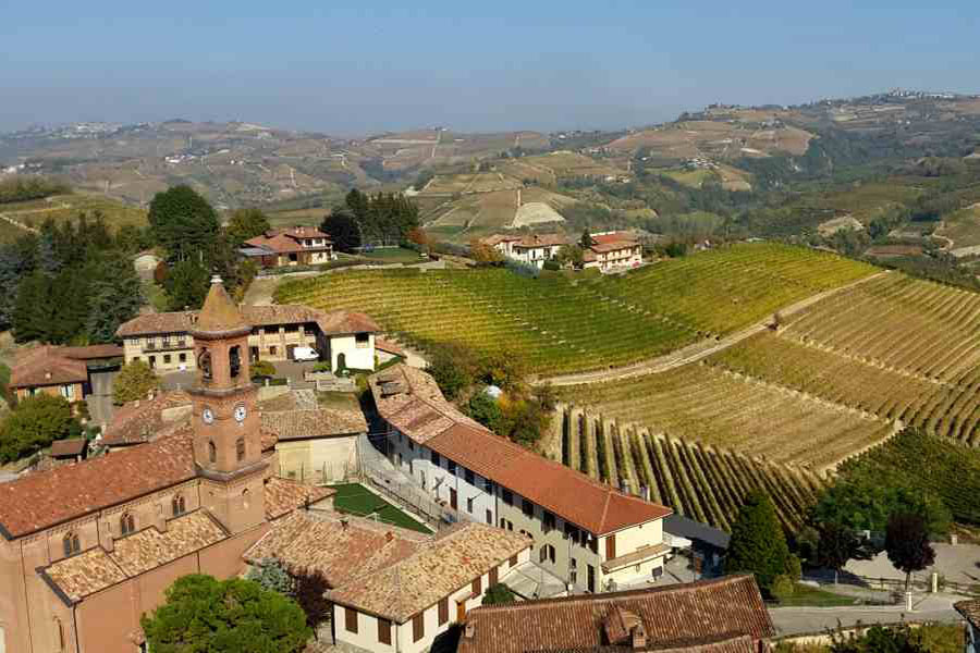 the langhe - pidmont's wine country - serralunga