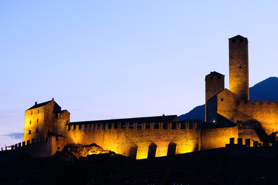 middle ages & breweries | bellinzona castles