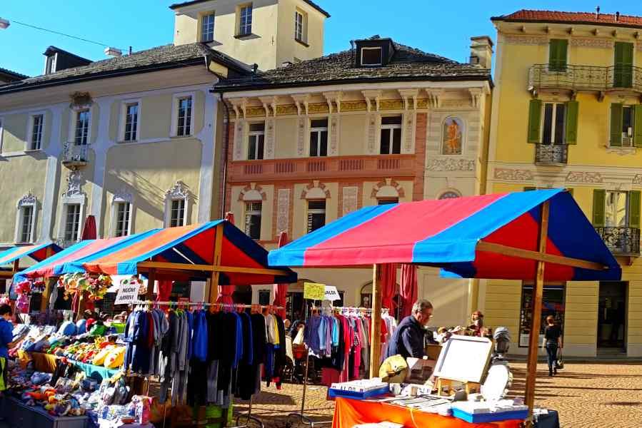 medieval bellinzona & saturday market
