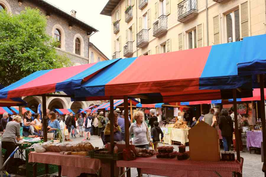 from farm to table | culinary secrets | bellinzona saturday market